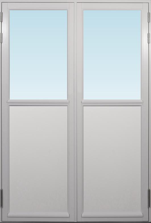 SP Fönster Altandörr Stabil  1680x2480/1180mm vänster par 3-glas linjerar fast   (17x25)