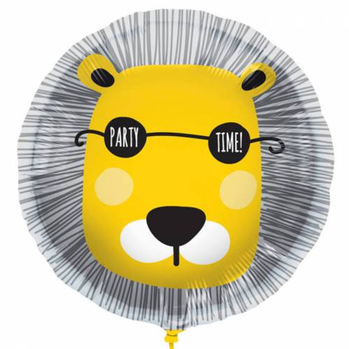 Folieballong Lejon Party Time