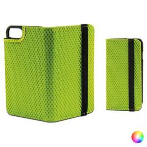 Folio-fodral med resårband för mobil Iphone 7 KSIX Sport (Färg: Grön)