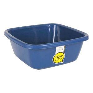 Tvättbalja Fyrkantig Blå (Mått: 44 cm - 20 l)