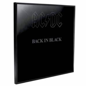 Crystal Clear Pictures AC/DC - Back In Black Crystal Clear Pictures Wall Art