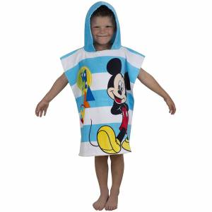 Character World Disney Mickey Mouse Boo Poncho Towel