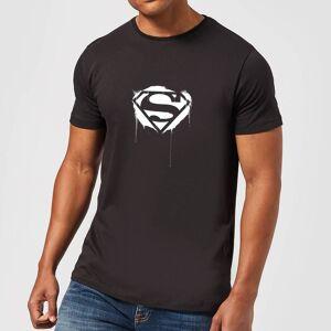 DCShoe Justice League Graffiti Superman Men's T-Shirt - Black - XS - Black