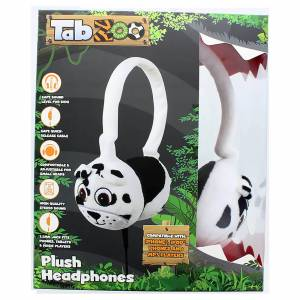 Lazerbuilt TabZoo Plush Dog Childrens Wired Headphones