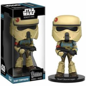 Entertainment Earth Star Wars Rogue One Scarif Stormtrooper Bobble Head