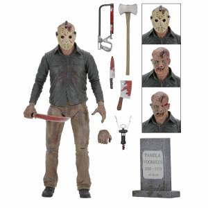 NECA Friday the 13th - 7  Action Figure - Ultimate Part 4 Jason
