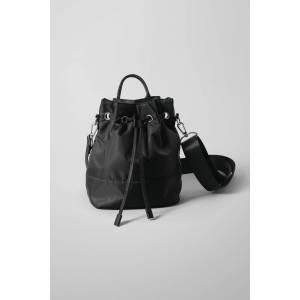 Aimie Bucket Bag - Black
