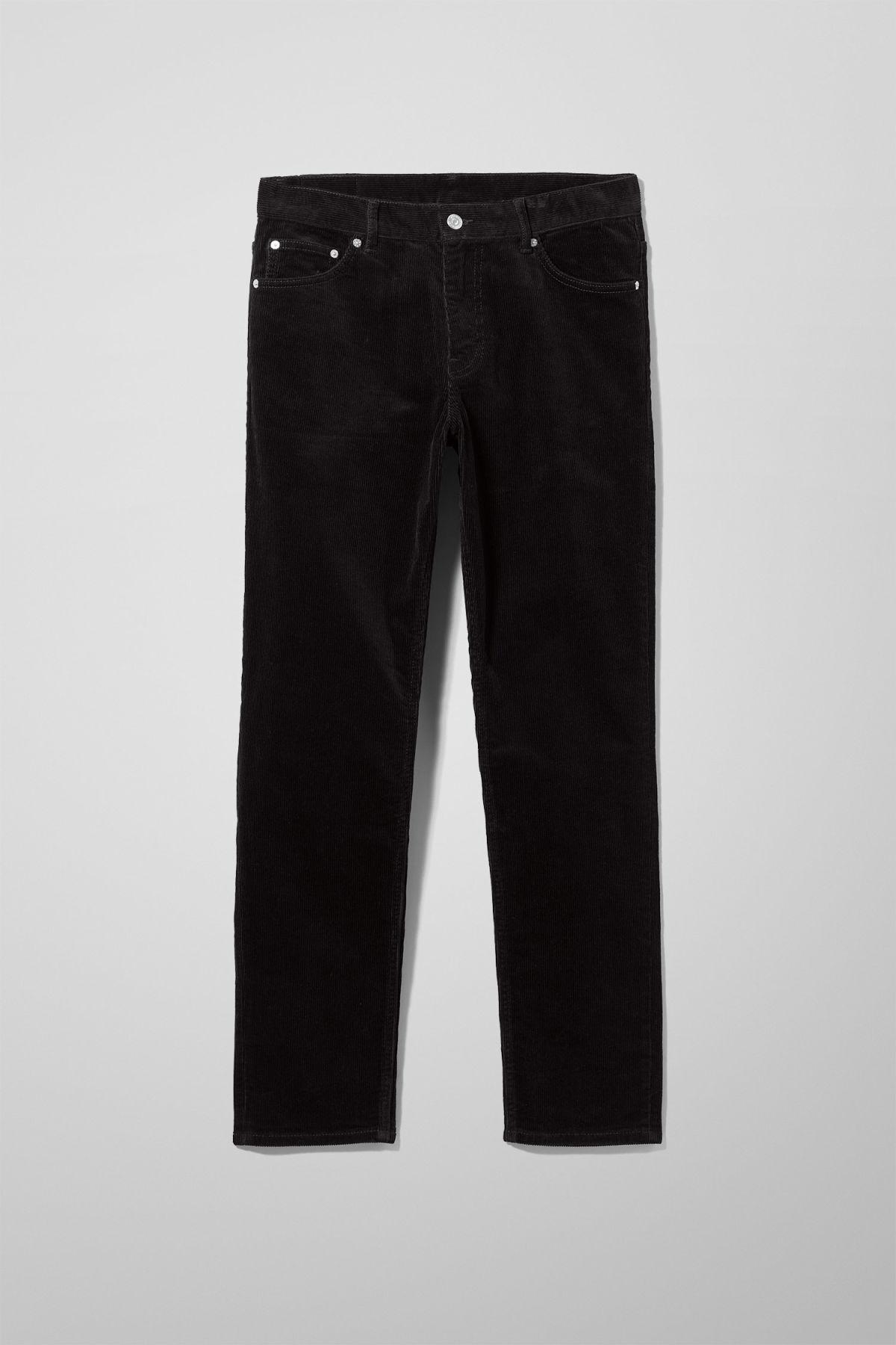 Sunday Corduroy Trousers - Black