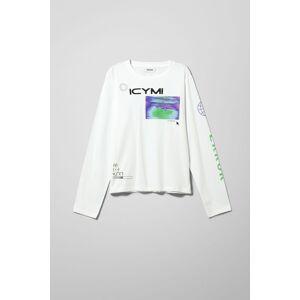 Alanis Printed Long Sleeve - White