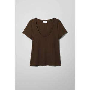 Alayah T-shirt - Brown