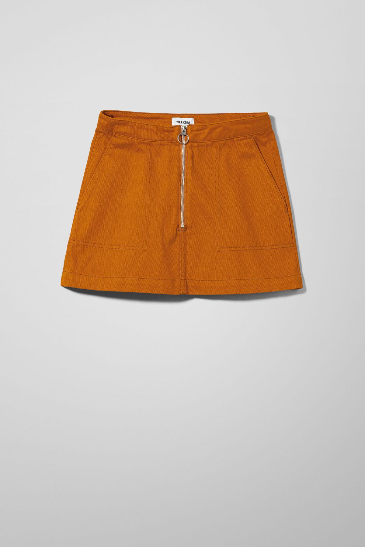 Piet Mini Skirt - Yellow