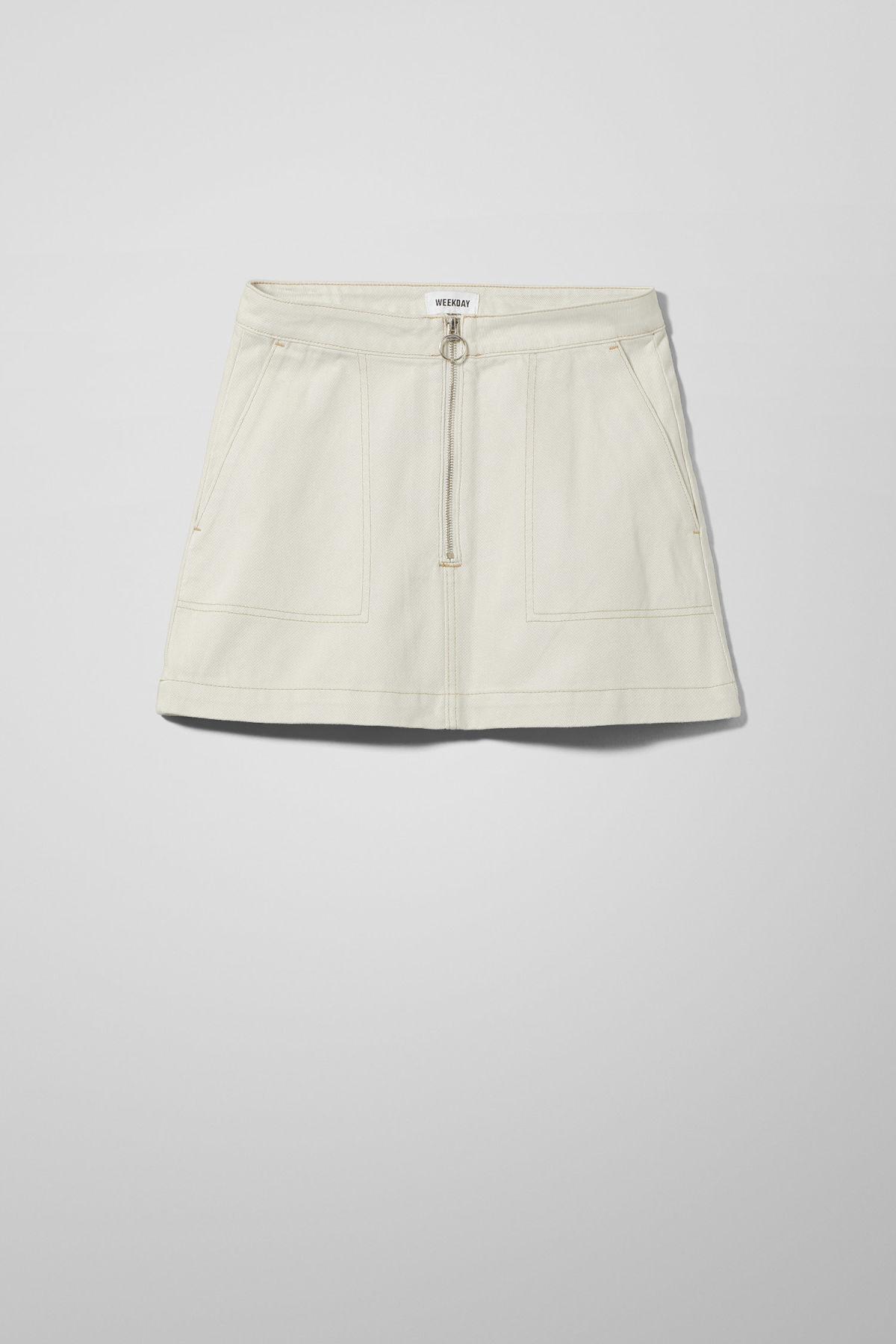 Piet Mini Skirt - Beige