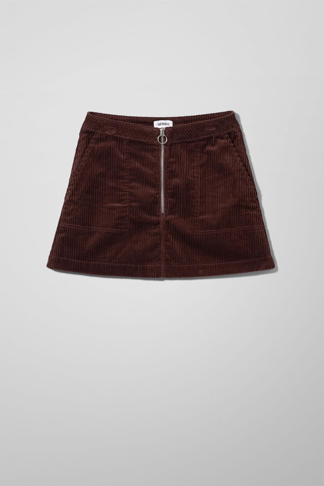 Piet Mini Skirt - Brown