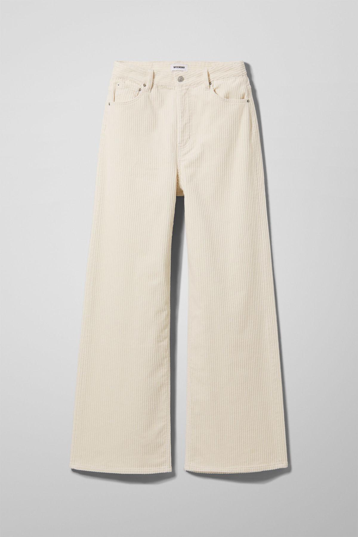 Ace Corduroy Trousers - Beige