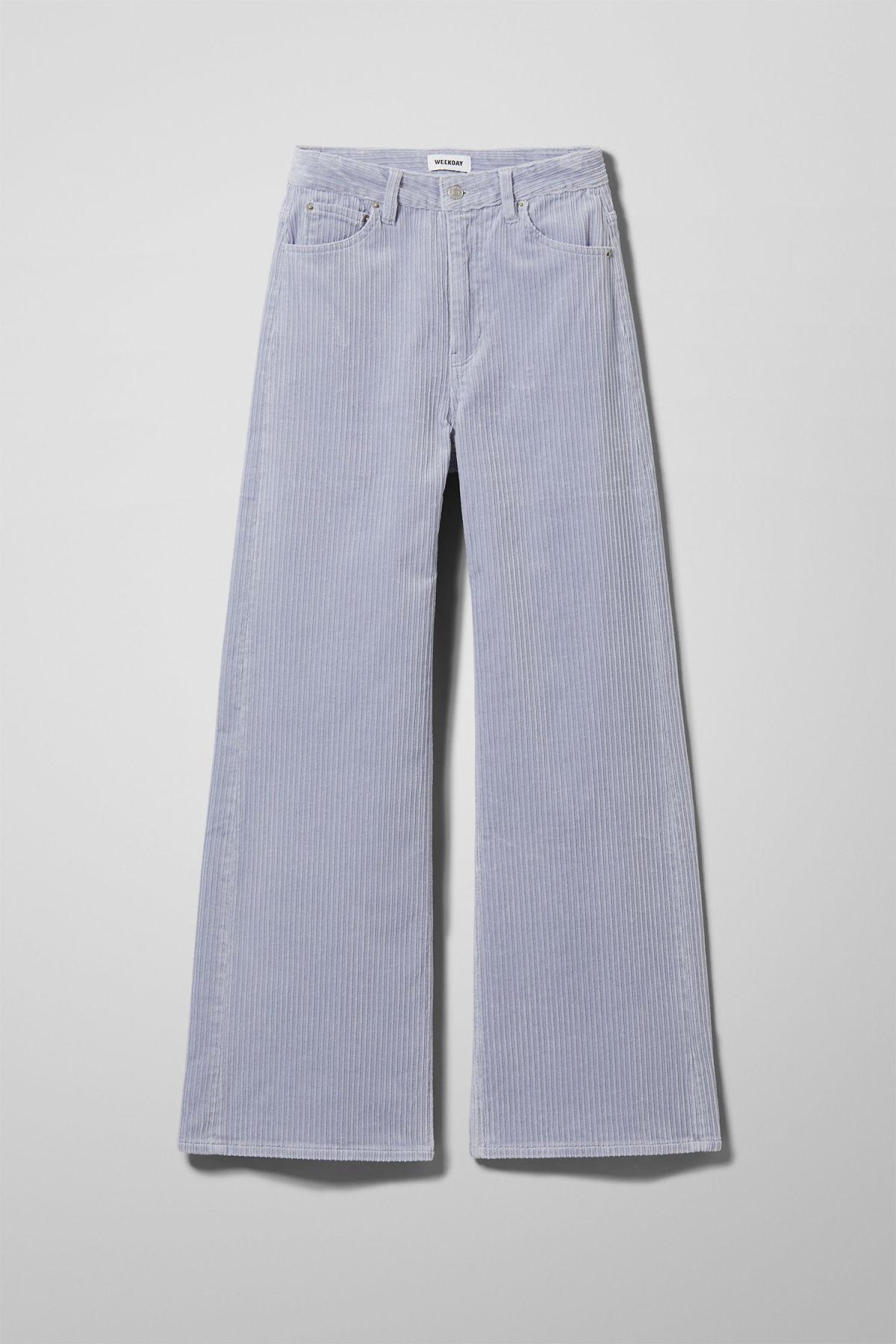 Ace Corduroy Trousers - Purple