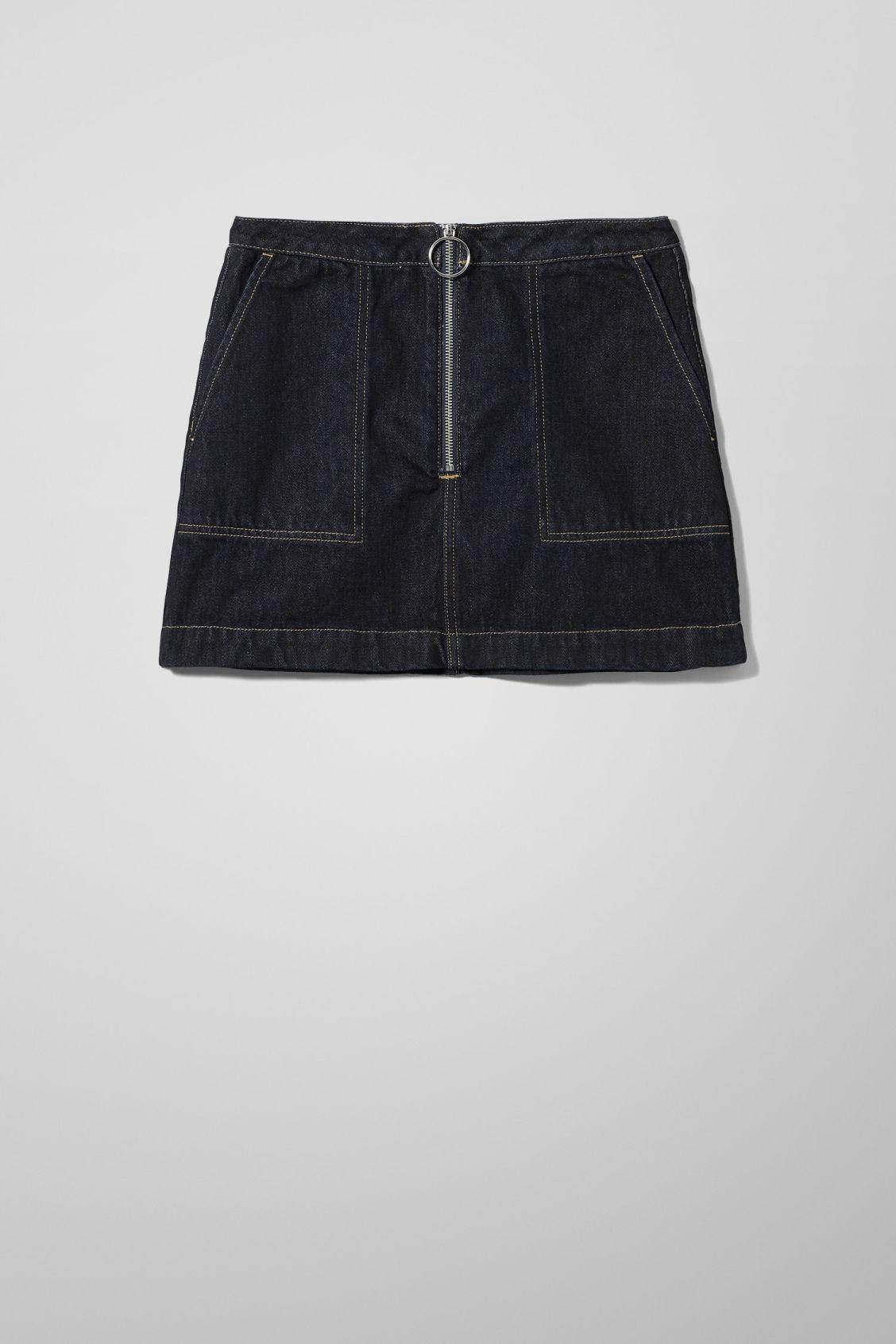 Piet Rinse Denim Mini Skirt - Blue
