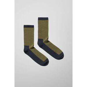 Noah Colour Blocking Socks - Green