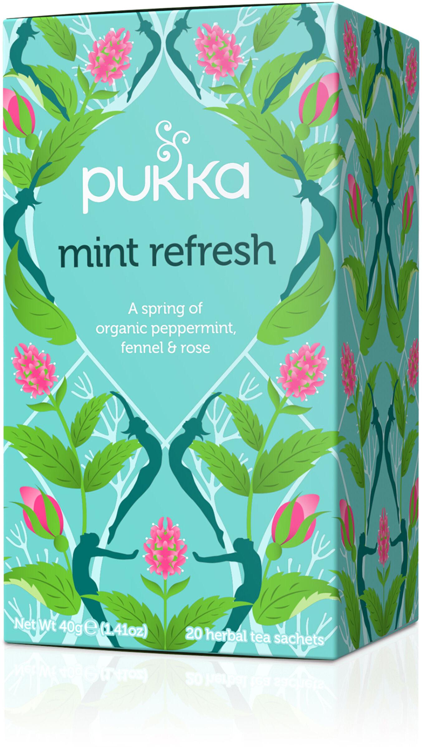 Pukka Herbs Pukka Te Mint Refresh 20 tepåsar