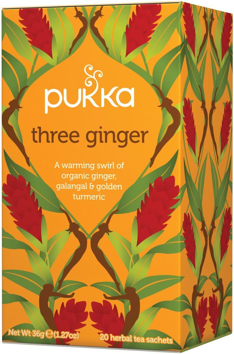 Pukka Herbs Pukka Te Three Ginger 20 st