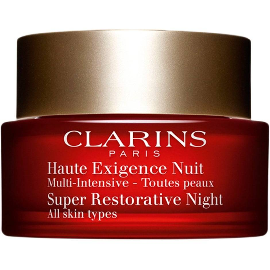 Clarins Köp Clarins Super Restorative Night, for All Skin Types,  50ml Clarins Nattkräm fraktfritt