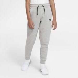 Nike Byxor Nike Sportswear Tech Fleece för ungdom (killar) - Grå Grå S