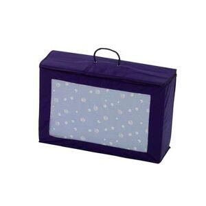 Alvi Madrass till resesäng inkl transportväska, blå