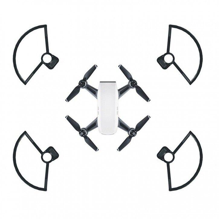 AK Propellerskydd till DJI Spark - Kit 4-Pack - Svart