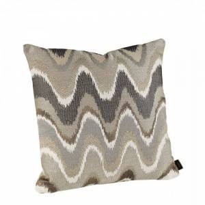 RAVE WAVE GREY Cushioncover, 50x50