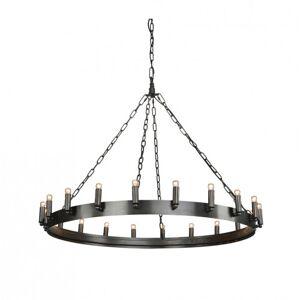 Crown Ceiling lamp - Antique iron  M