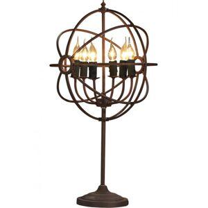 Antique ROME Table lamp - Antique rust