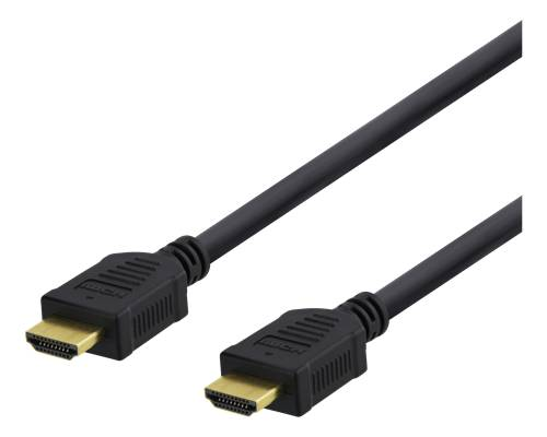Deltaco High-Speed HDMI-kabel 10m - Svart