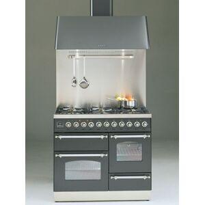 Ilve Spis Professional Plus Nostalgie PTN100 - PP Nostalgie 110 cm, 6 brännare + stekbord, ugn 60 + 40 + grillugn