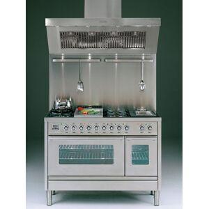 Ilve Gasspis Professional Plus Hi-tech P120 - 6 gasbrännare + elgrill, ugn 90 + 30