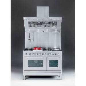 Ilve Gasspis Professional Plus Hi-tech PS120 - Grafitmatt