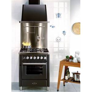 ILVE Gasspis Majestic Techno MT70 med 1 Ugn - Rostfritt