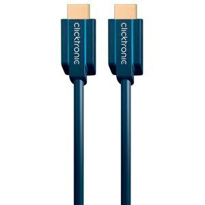 Clicktronic Ultra Höghastighets HDMI-Kabel Med Ethernet - 2 meter