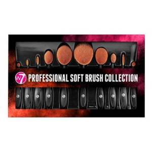 W7 Professional Soft Borste Kollektion