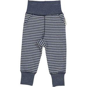Geggamoja Babybyxa Classic Marinblå randigt 50/56