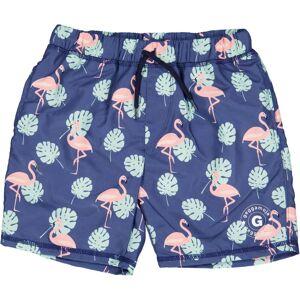 Geggamoja UV 50+ - Badshorts Flamingo 110/116