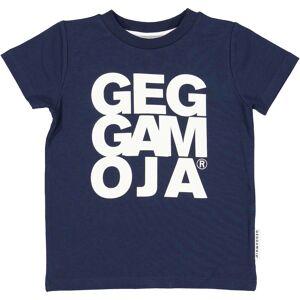 Geggamoja T-shirt Marinblå 110/116