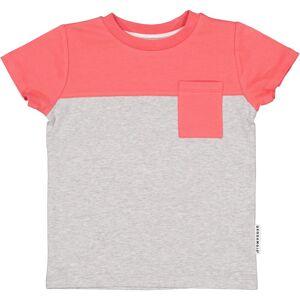 Geggamoja T-shirt Hallonröd 122/128