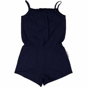 Geggamoja Summer jumpsuit Marinblå 122/128