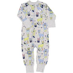 Geggamoja Pyjamas Bambu Grå Cirkus 50/56