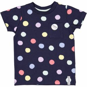 Geggamoja Bambu T-shirt Multiprick 74/80