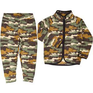 Geggamoja Fleeceset Teen Kamouflage 170