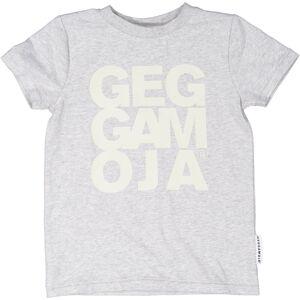 Geggamoja T-Shirt Grå 110/116