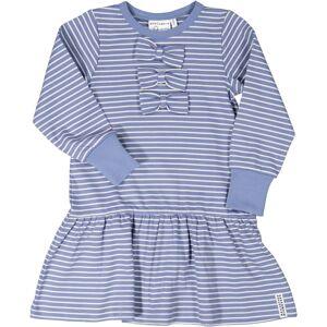 Geggamoja Rosettklänning Infinity blue str 134/140