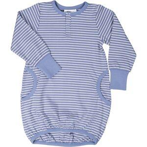 Geggamoja Klänning med ficka Infinity blue 98/104