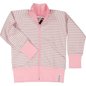Geggamoja Ziptröja Candy pink str 134/140