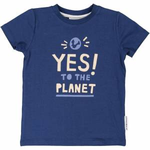 Geggamoja T-shirt Yes to the planet 122/128